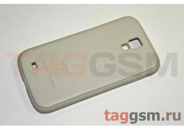 Задняя крышка Popuiar Raiders Samsung  i9500 (каучук) белая