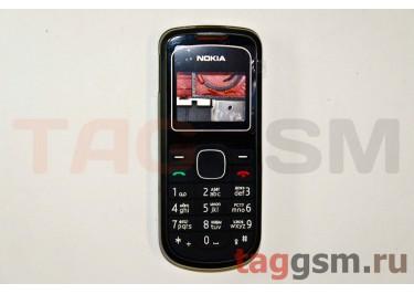Корпус Nokia 1202 со средней частью + клавиатура (черный)