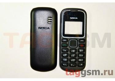 Корпус Nokia 1280 без средней части + клавиатура (черный)