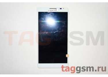 Дисплей для Huawei Ascend Mate + тачскрин (белый)