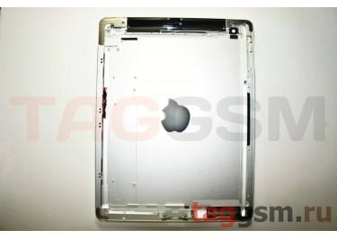 Задняя крышка для iPad 3 3G + держ. сим 16GB (серебро)