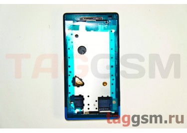 Корпус для HTC Windows Phone 8s (синий) ориг