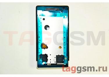 Корпус для HTC Windows Phone 8s (черный) ориг