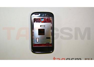 Корпус для HTC Desire C (черный) ориг