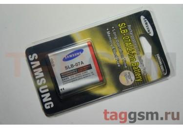 АКБ для фотоаппарата Samsung SLB-07A Samsung: ST50, ST45, ST500, ST550