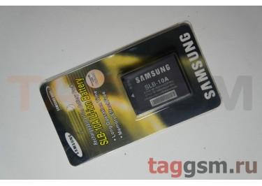 АКБ для фотоаппарата Samsung SLB-10A Samsung L100, L110, L200, L210, L110 ,M110, NV9, TL9, SL310W