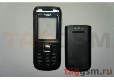 Корпус Nokia 1680 без средней части + клавиатура (черный)