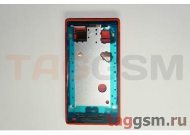 Корпус для HTC Windows Phone 8s (красный) ориг