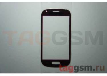 Cтекло для Samsung i8190 (красный)