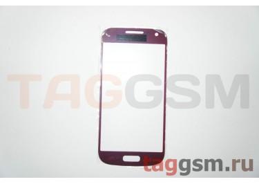 Cтекло для Samsung i9190 (красный)