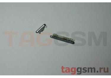 Комплект кнопок Samsung GT-I9300 (набор 2 шт. вкл / выкл, громкости) белые