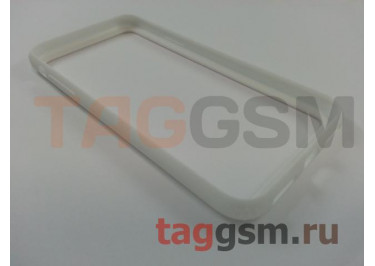 Бампер для iPhone X (белый) Baseus