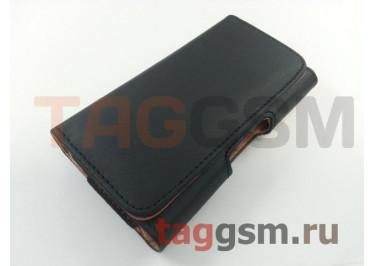 Чехол на ремень для Samsung (125,3х66,1х8,5 мм) (черный) техпак