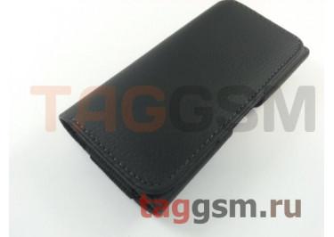 Чехол на ремень для Samsung J1 (2015) / Nokia Lumia 630 / 635 (129х68,2х8,9 мм) (черный) техпак