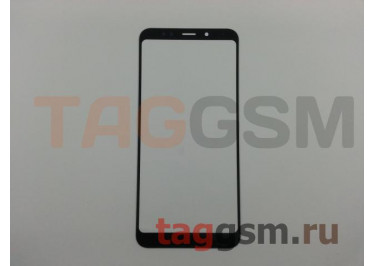 Стекло для Xiaomi Redmi 5 Plus (черный)
