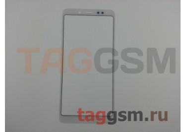 Стекло для Xiaomi Redmi Note 5 Pro (белый)