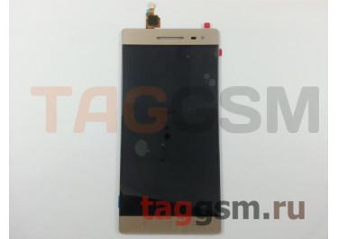 Дисплей для Lenovo Phab 2 Pro + тачскрин (золото)