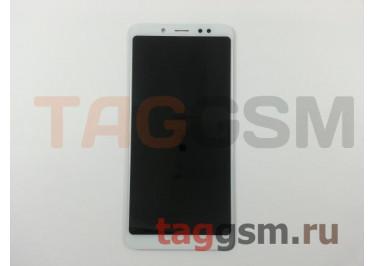Дисплей для Xiaomi Redmi Note 5 Pro + тачскрин (белый)