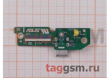 Шлейф для Asus Fonepad (ME372) + разъем зарядки + микрофон
