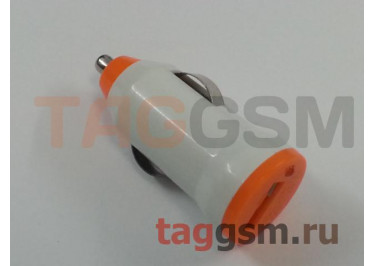 Блок питания USB (авто) 1000mAh белый, в ассортименте