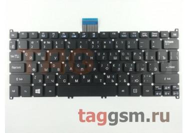 Клавиатура для ноутбука Acer Aspire S3 / S5 / S3-391 / S5-391 / V5-121 / V5-171 / One B113 / One 725 / One 756 / TravelMate B1 (черный)