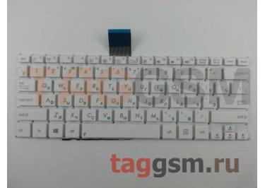 Клавиатура для ноутбука Asus VivoBook F200 / F200M / F200MA / F200CA / F200LA / R202 / R202CA / X200CA / X200LA / X200MA (белый)