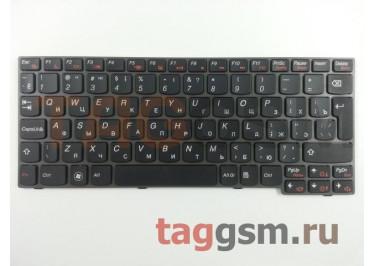 Клавиатура для ноутбука Lenovo IdeaPad S10-3 / S10-3s / S205 (черный)