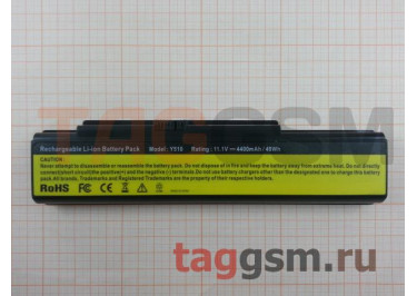 АКБ для ноутбука Lenovo IdeaPad Y500 / Y510 / Y530 / Y710 / Y730 / V550, 4400mAh, 11.1V (121000659 / 121000649 / 121TS0A0A)
