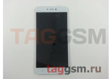 Дисплей для Xiaomi Redmi Note 5A + тачскрин (белый)