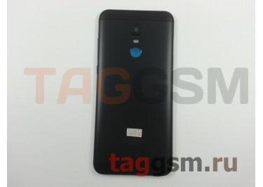 Задняя крышка для Xiaomi Redmi 5 Plus (черный), ориг