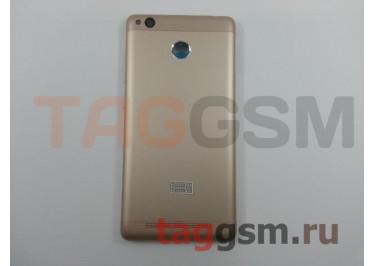 Задняя крышка для Xiaomi Redmi 3s / Redmi 3 Pro / Redmi 3x (золото), ориг