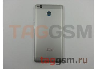 Задняя крышка для Xiaomi Redmi 3s / Redmi 3 Pro / Redmi 3x (серебро), ориг