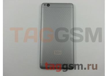 Задняя крышка для Xiaomi Redmi 3 (серый), ориг