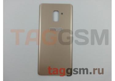 Задняя крышка для Samsung SM-A730 Galaxy A8 Plus (2018) (золото), ориг