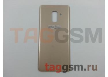 Задняя крышка для Samsung SM-A530 Galaxy A8 (2018) (золото), ориг