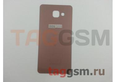 Задняя крышка для Samsung SM-A510 Galaxy A5 (2016) (розовый)