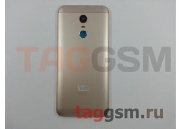 Задняя крышка для Xiaomi Redmi 5 Plus (золото), ориг