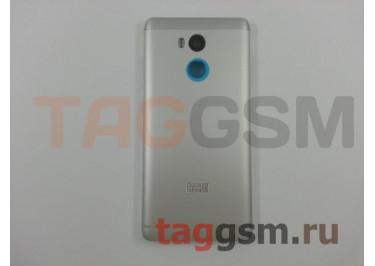 Задняя крышка для Xiaomi Redmi 4 Prime / Pro (серебро), ориг