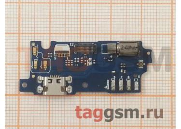 Шлейф для Meizu M3 mini + разъем зарядки + микрофон + вибро