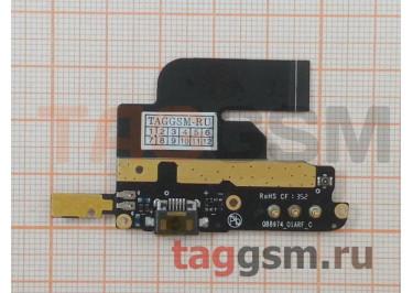 Шлейф для ZTE Nubia Z5S mini + разъем зарядки + микрофон