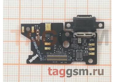 Шлейф для Xiaomi Mi Note 3 + разъем зарядки + микрофон