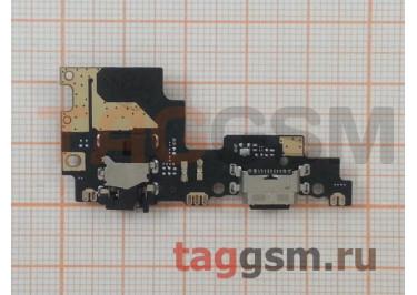 Шлейф для Xiaomi Mi A1 / Mi5X + разъем зарядки + разъем гарнитуры + микрофон