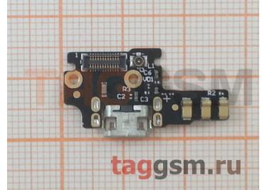 Шлейф для ZTE Nubia Z9 mini (NX511J) + разъем зарядки