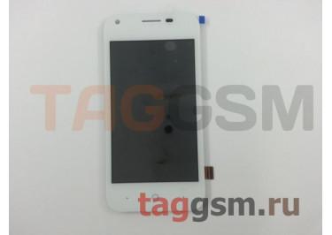 Дисплей для ZTE Blade L110 + тачскрин (белый)