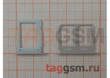 Держатель сим + держатель MicroSD карты для Samsung A9100 / A910 Galaxy A9 / A9 Pro (2016) (золото)