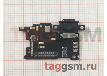 Шлейф для Xiaomi Mi6 + разъем зарядки + микрофон