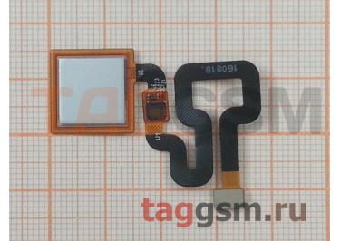 Шлейф для Xiaomi Redmi 4 Pro / 4 Prime + сканер отпечатка пальца (серебро)
