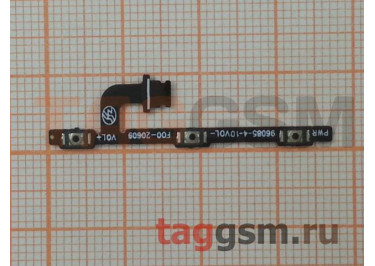 Шлейф для Meizu M3 Note + кнопка включения + кнопки громкости