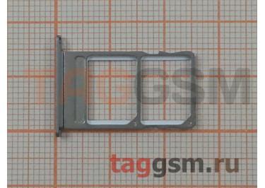 Держатель сим для Meizu MX5 (серый)