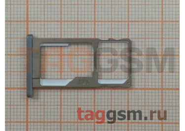Держатель сим для Meizu M2 Note (серый)
